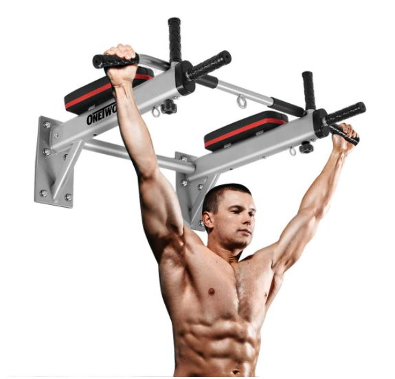 multi-functional-wall-mounted-multi-grip-pull-up-bar-dip-station-3